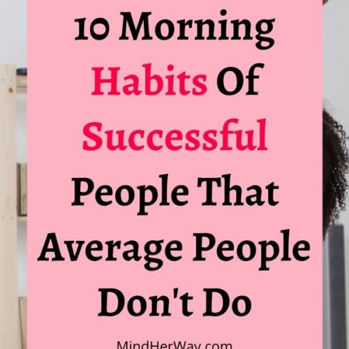Important Morning Habits Of Successful People