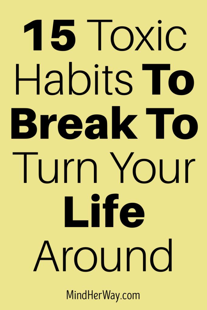 Bad Habits You Should Break 2