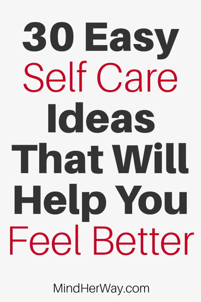 30 Cheap Self Care Ideas For A Bad Day