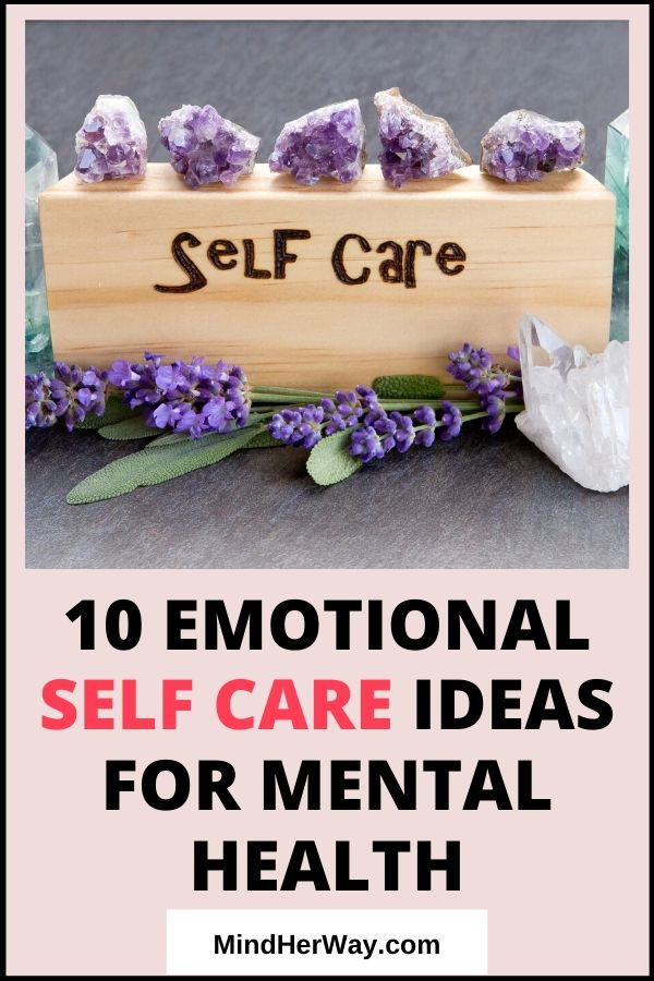 Emotional Self Care Ideas
