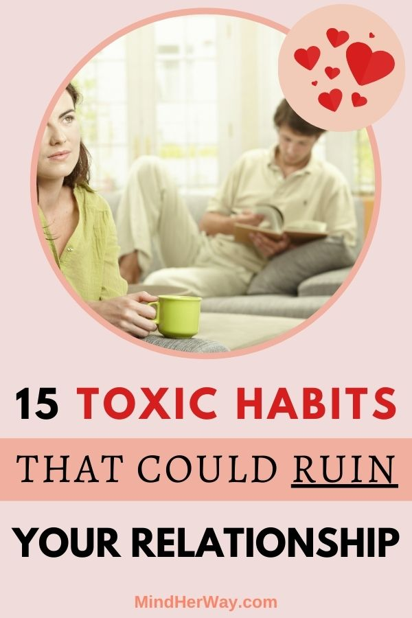 Bad Habits In Relationships